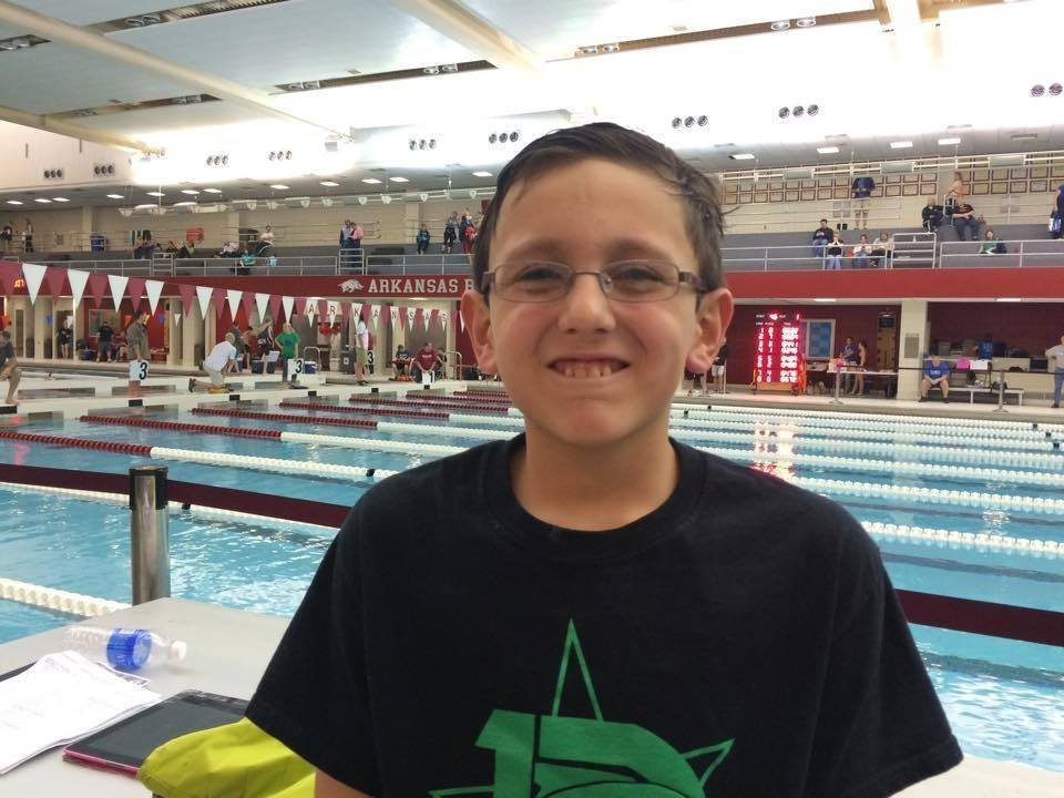 Andrew Rogers Breaks 10 & Under NAG Record in 100 Fly For 2nd Time in 5 Weeks