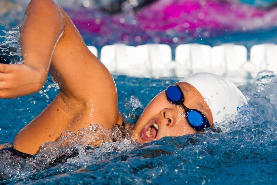 14-Year Old Easop Lee Swims 2:01 in 200 Meter Free at CeraVe Invitational