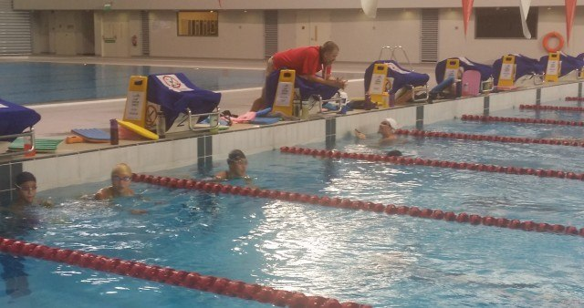 Singapore Swimming Association, first practice with Sergio Lopez