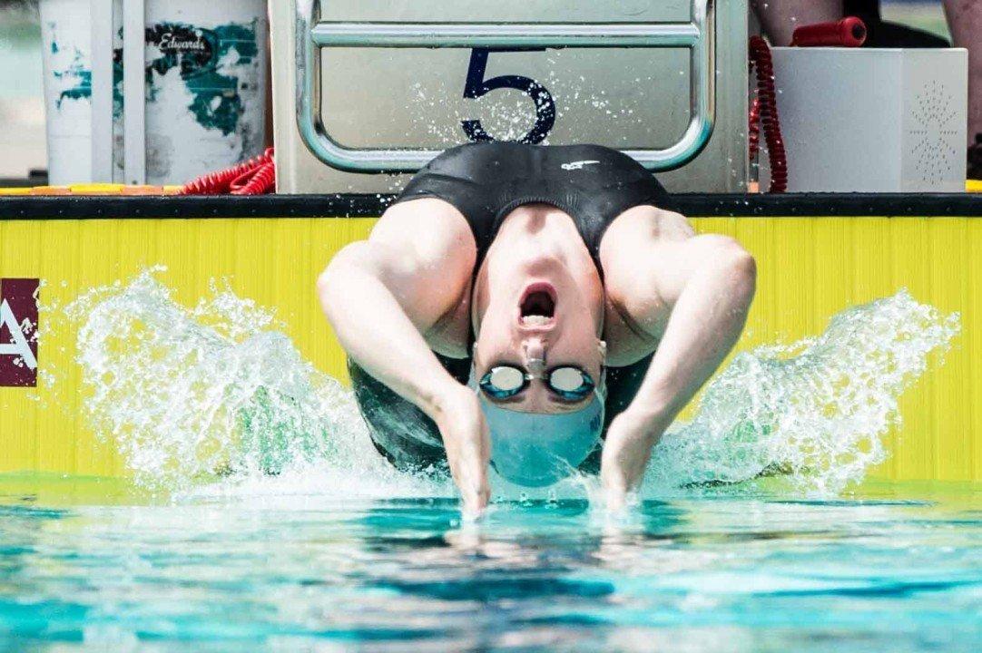 Coach's Eye: New Backstroke Start Wedges Resulting in Higher Hip Height on Backstroke Start