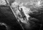 Tyler Clary underwater swimming