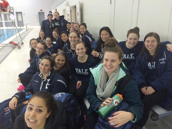 Yale Women Men Overpower Cornell In Ithaca
