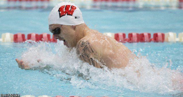 Badger Men Erase Three Pool Records as Wisconsin Takes Down UW-Milwaukee