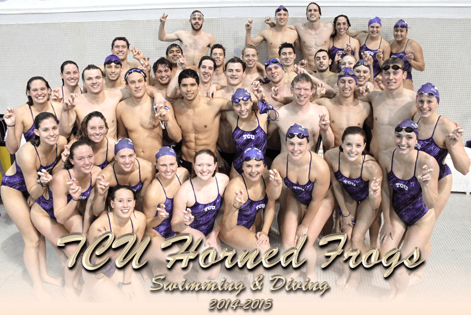 TCU Swimming & Diving Teams Honored by CSCAA