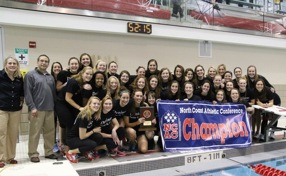 Denison claims Seventh Consecutive NCAC Championship Title and Multiple Awards