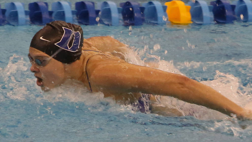 Rusch Sweeps Sprints as Duke Beats South Carolina