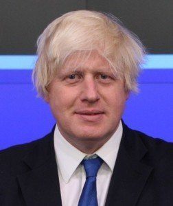 Boris Johnson, mayor of London (courtesy of wikipedia)