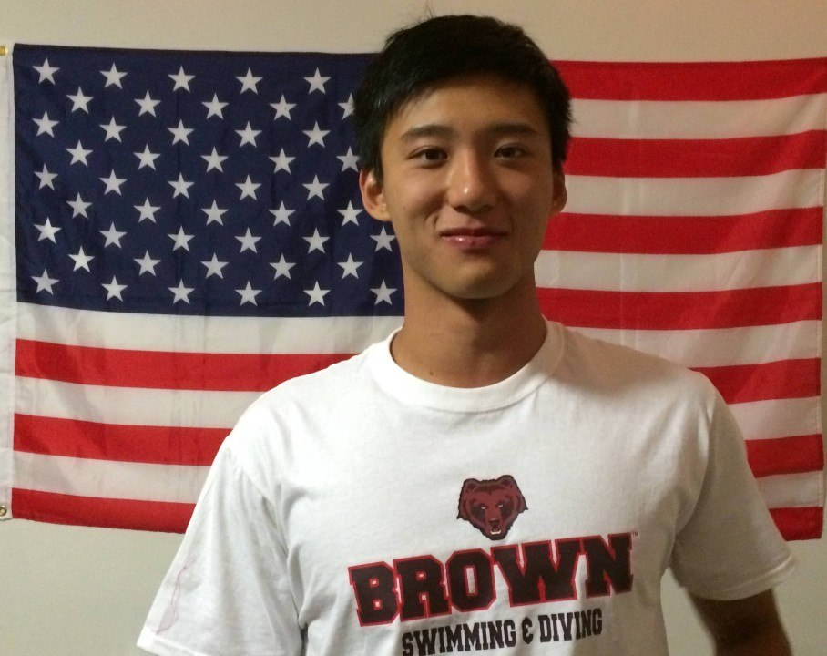 Sean Han of Peddie School to Swim for Brown Next Year