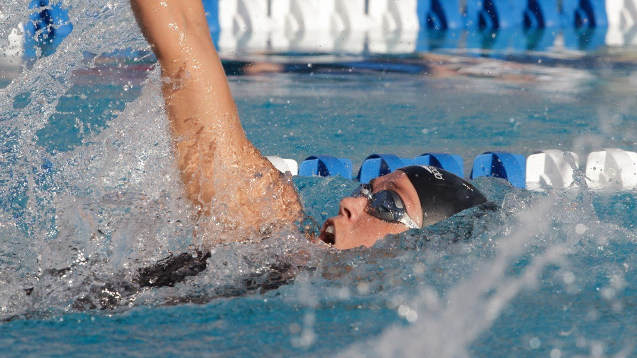 Natalie Coughlin Swims 1:00.08 in 100 Backstroke Time Trial at Arena Pro Swim – Charlotte
