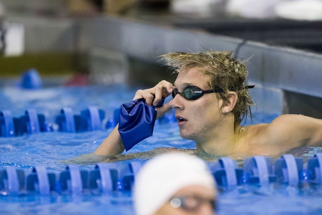 Caeleb Dressel Swims 1:43 200 IM at Florida Last Chance Meet