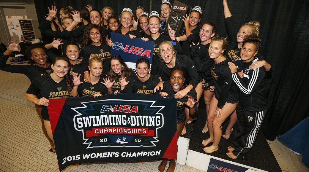 Florida International Follows Perfect Dual Meet Season with Conference USA Title