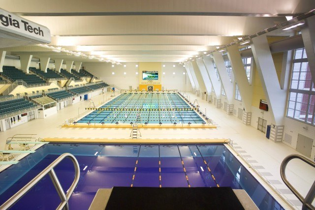 10 Great Swimming Pools In Action This College Conference