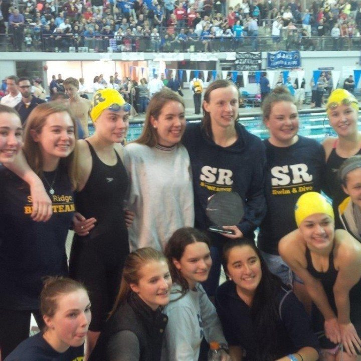 Georgetown Prep Boys, Churchill Girls Win D.C. Metro Champs Titles as Ledecky Takes it to 11