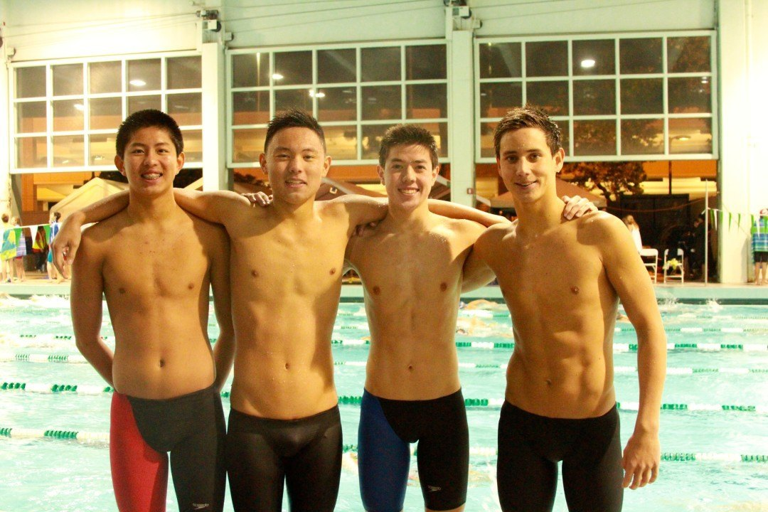 Irvine Novaquatics Breaks 13-14 400 Yard Free Relay National Age Group Record