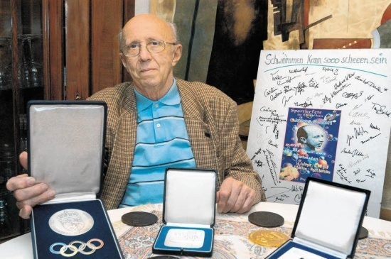 Janos Satori, First National Team Coach of German Swimming, Passes Away at 83