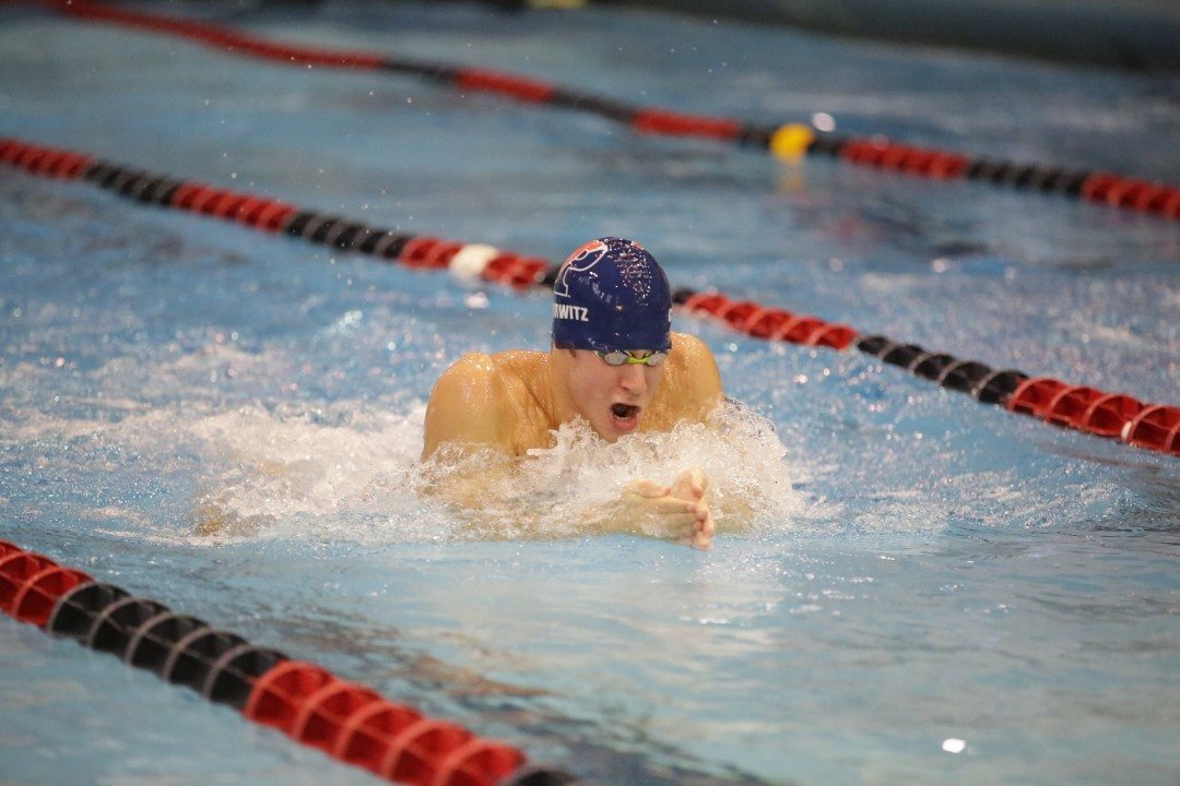 Will Thomas Sets Pool Record While Penn Hosts West Chester