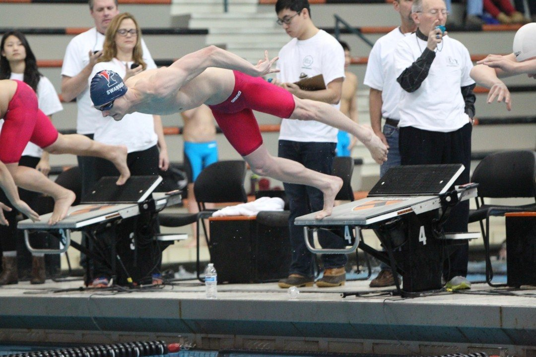 2015 Ivy League Men's Championships Day 1: Up/Mid/Down