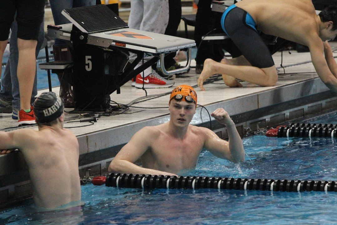 2015 Ivy League Men's Championships Day 1 Finals: Record-Breaking Performances Help Princeton Establish Early Lead