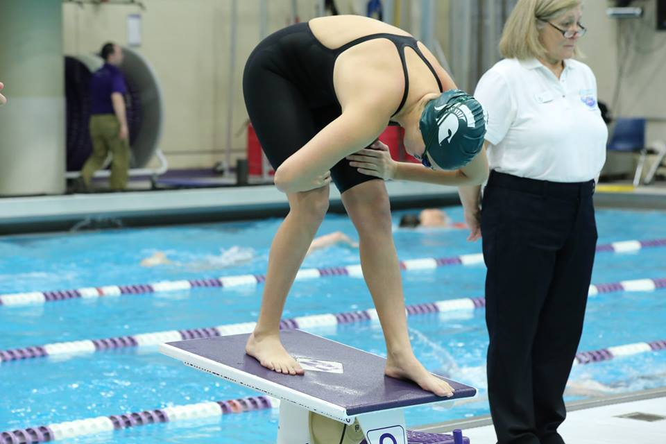 Racheal Bukowski Breaks MSU Pool Record on Senior Day