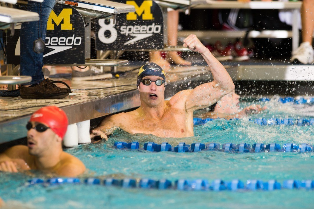 2015 Men's Big Ten Championships: Michigan Doubles Up on Day 1 Finals