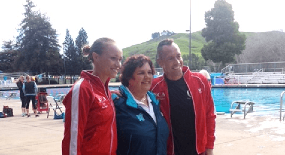 Barred from Olympics, Synchro's Male Swimmer Advances In Bid For World Championships