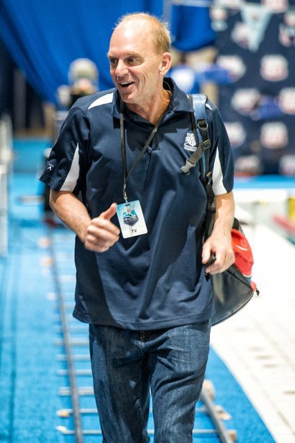 Thirty-Four Year Old Rowdy Gaines Record goes Down On Night One Of SEC Championships