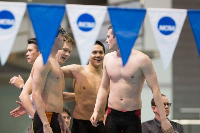 400 Medley Relay, Texas (courtesy of Tim Binning, theswimpictures.com)