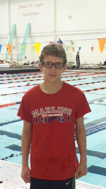 Adam McDonald of Cincinnati Marlins Downs Ethan Dang's 100 Breast for 2nd NAG of Weekend