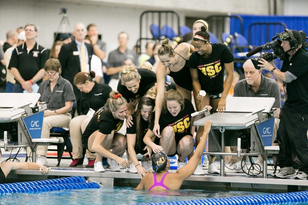 College Swimming Previews: #8 USC Women Look To Move Up After Massive Recruiting Year
