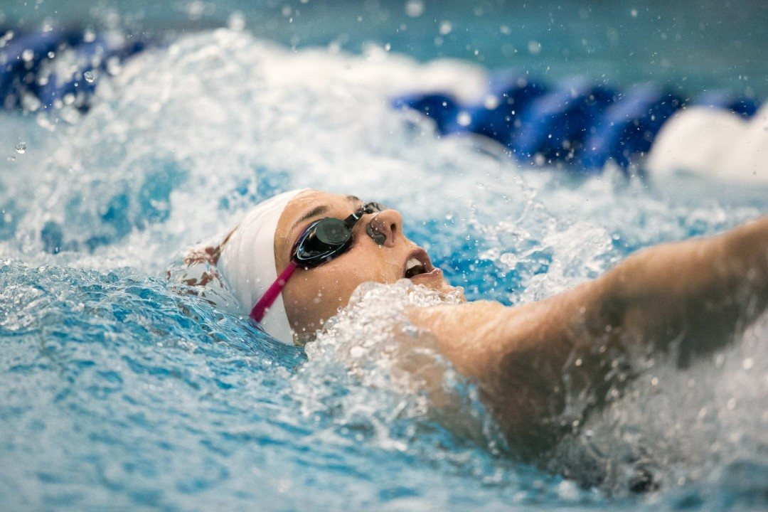 Sam Corea Puts Denver Into Top 30 With 200 Backstroke Bronze