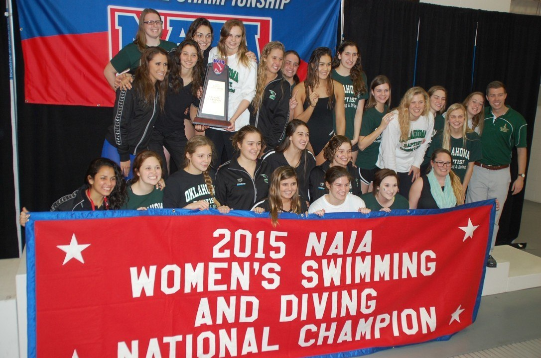 2015 NAIA National Championships – Women: OBU Three-peats; SCAD Buzzes Past Brenau