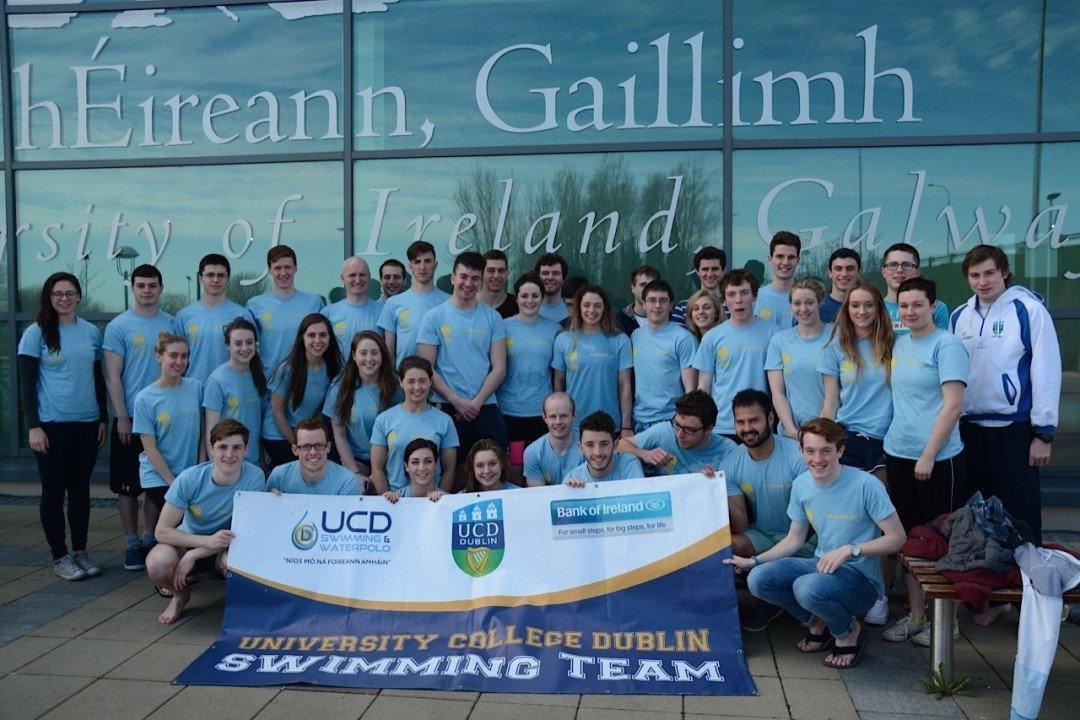 University College Dublin Wins Third-Straight Irish Inter-Varsities Swimming Championship