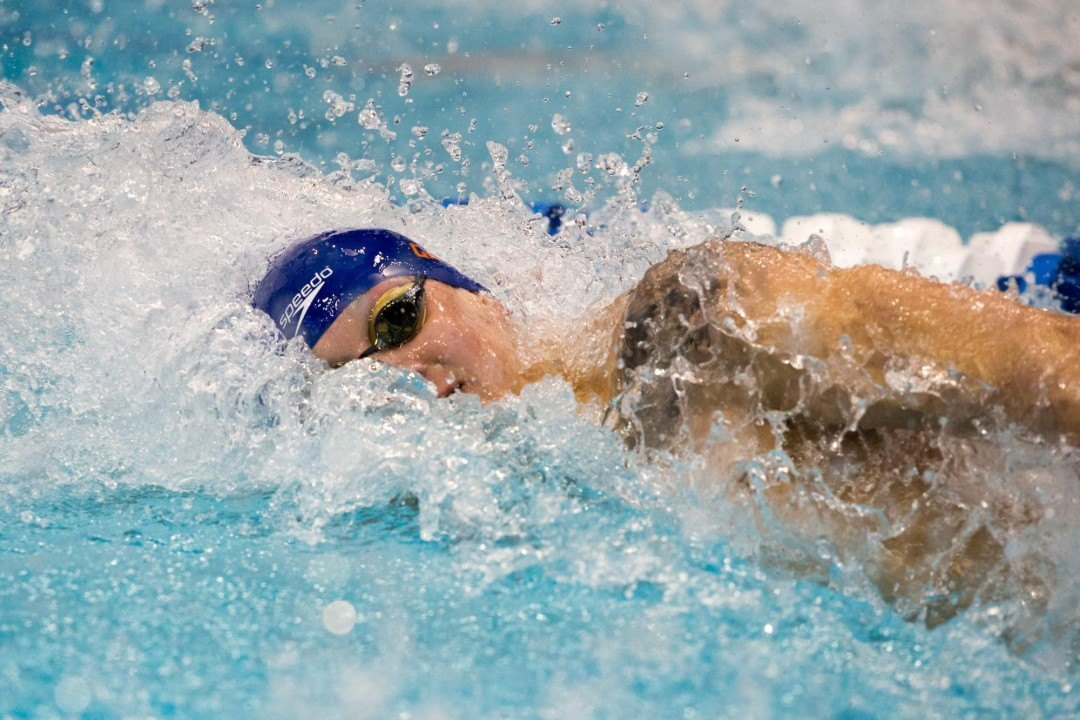 Dressel's 19.4 Free, 53.0 Breast Lead Florida To Dual Wins In Tennessee
