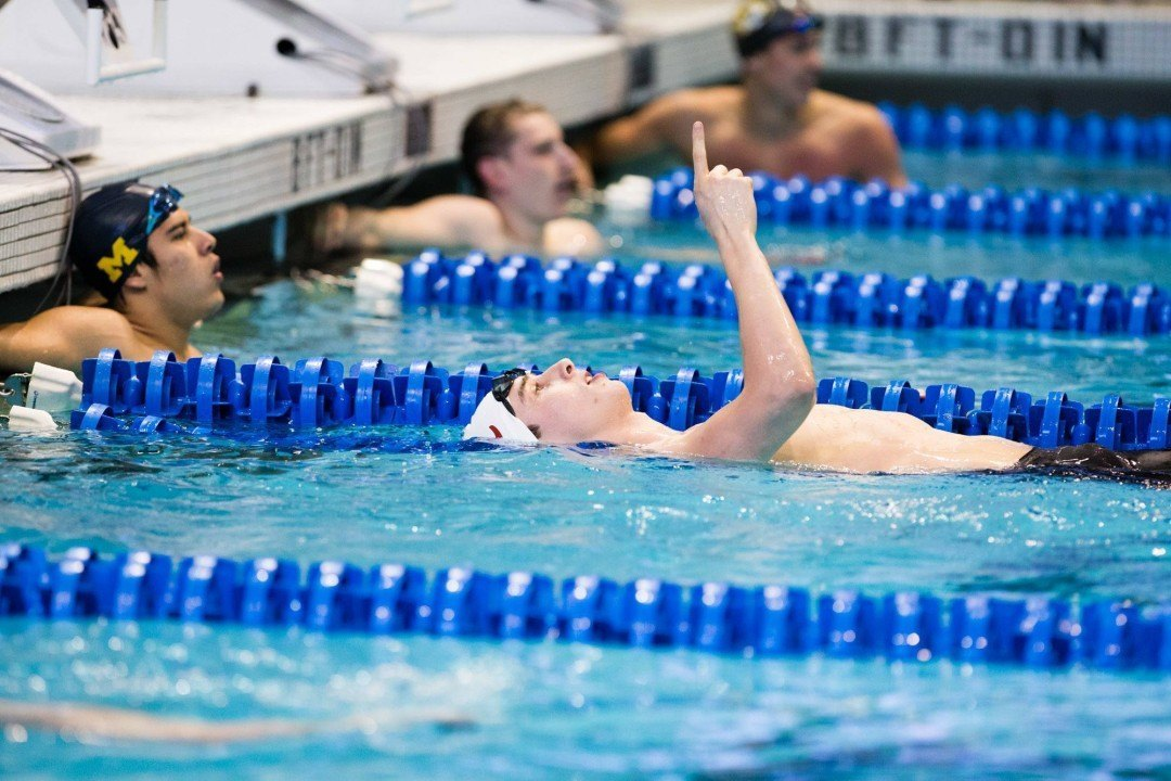 Burchell, Gkolomeev Named Alabama's Most OUtstanding Swimmers for 2014-2015 Season