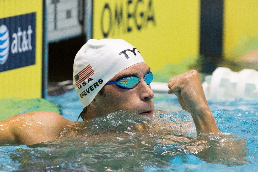 Grevers, Ervin, Beisel among Team USA Captains for World Championships