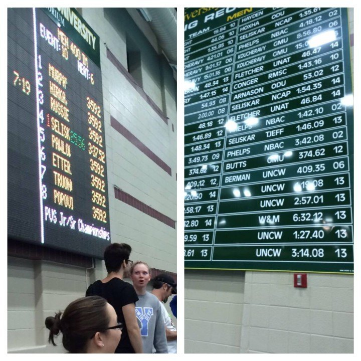 Seliskar Blasts Past a Kalisz NAG Record and a Phelps Pool Record in the 400 IM