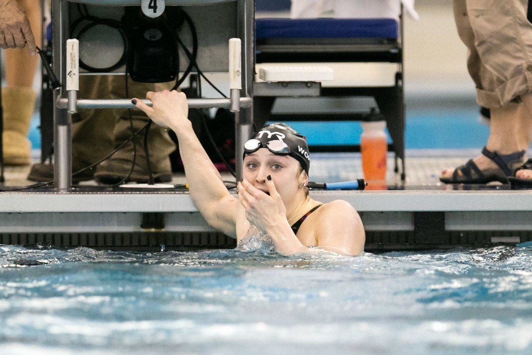 Kelsi Worrell Becomes First Woman Ever Under 50 Seconds in 100 Yard Fly