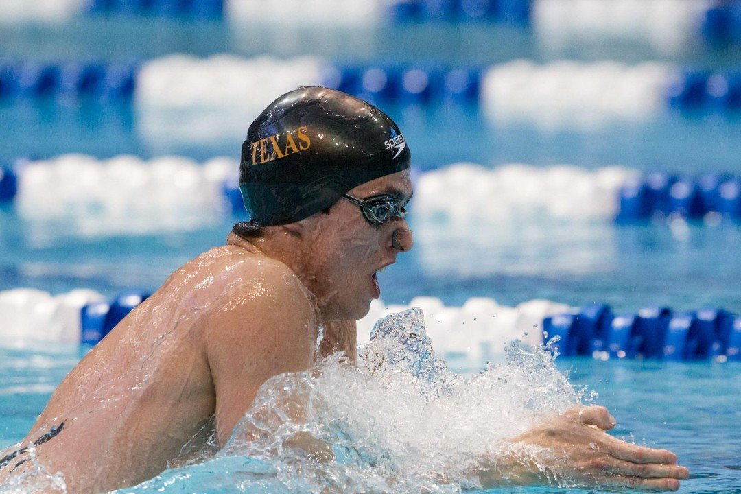 Will Licon Wins With 2nd Fastest 200 IM in History, Breaks Pool Record