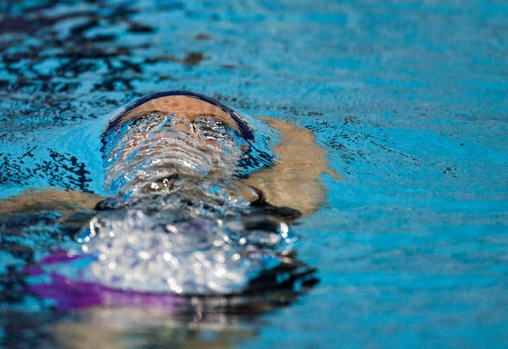 Kristina Steins Breaks 100m Backstroke Record Twice In One Day At Latvian Nationals