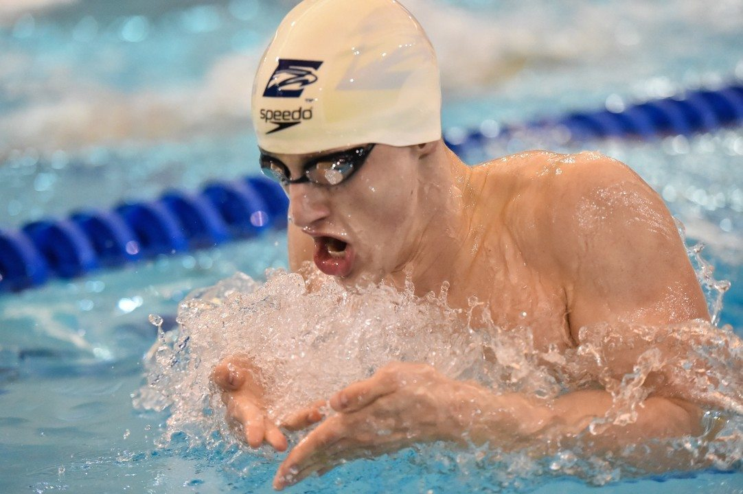 Andrew Wilson Posts 13th Fastest 200 Breast To Win D3 NCAAs