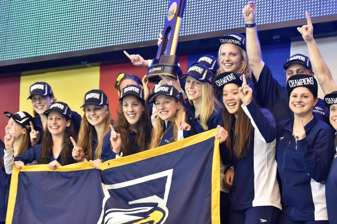 Emory Claims 6th Consecutive NCAA Title; Kenyon Adds a 34th NCAA Championship
