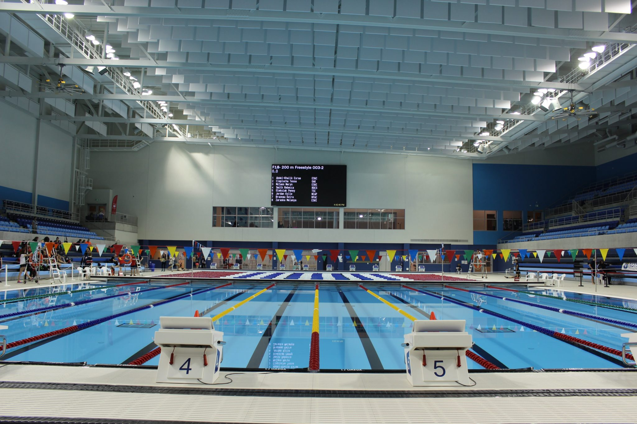 The Toronto Pan Am Sports Centre The Rebuilding Of Canadian Swimming