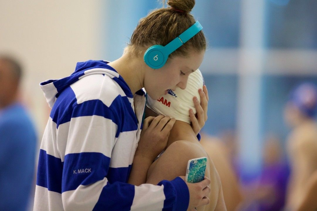NCAP 15-16 Girls Take Down SwimMAC's 800 FR-Relay NAG Record