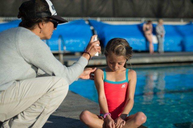Swim Spray by Mike Lewis