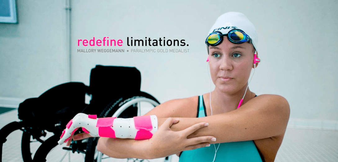Redefine Limitations Campaign,  Featuring Mallory Weggemann, Nominated For Telly Award