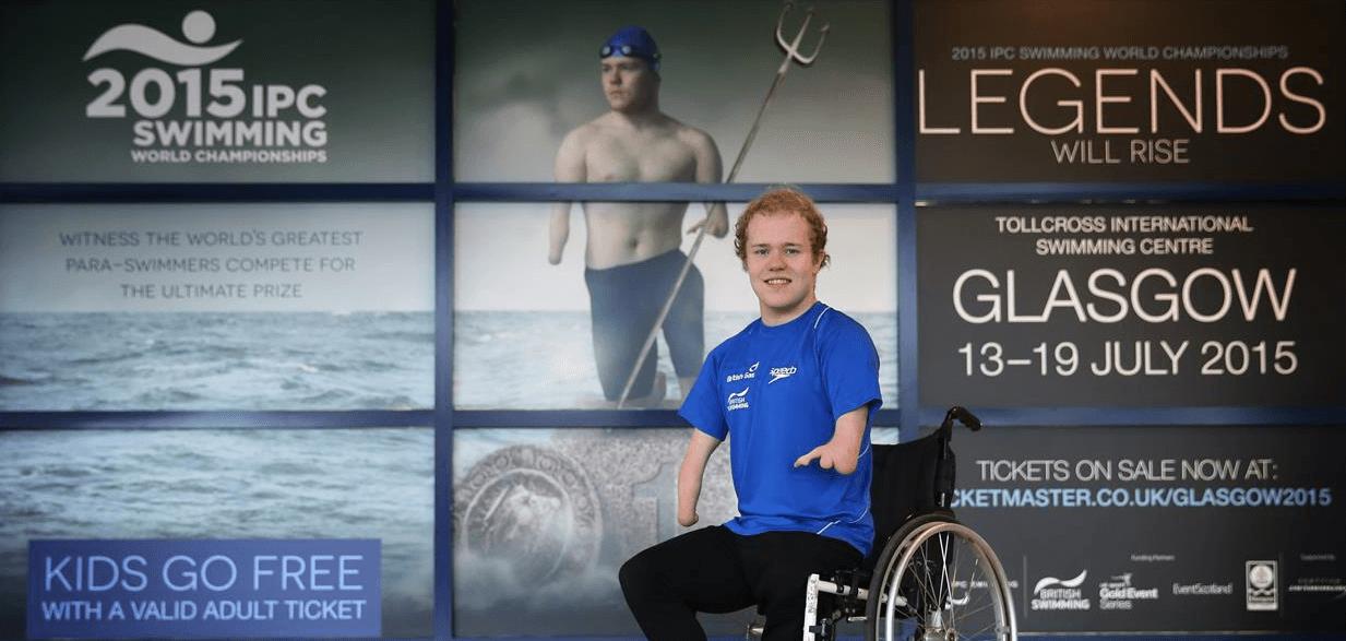Meet British Paralympian Andrew Mullen (Video)