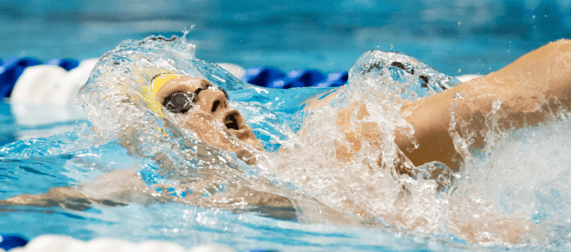 Ryan Murphy swim 44.17 leadoff on the medley relay - NCAA Record (courtesy of Tim Binning, theswimpictures.com)