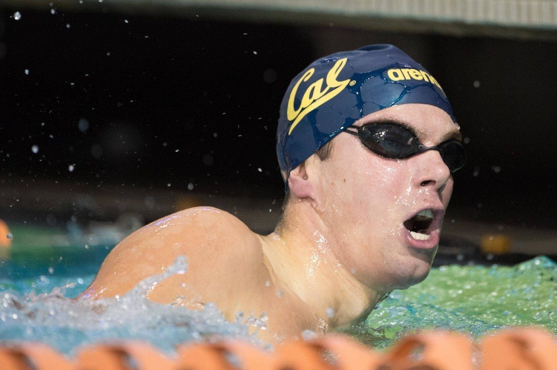 Prenot Named Pac-12 Men's Swimmer of the Month