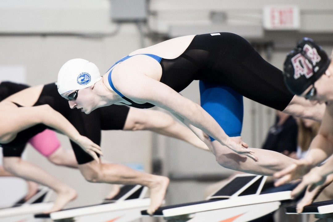 Ledecky Smashes Three First State Cup Meet Records