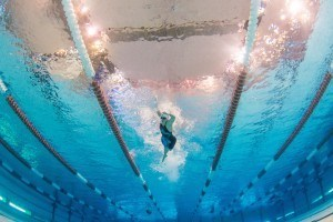 Katie Ledecky underwater swimming photography
